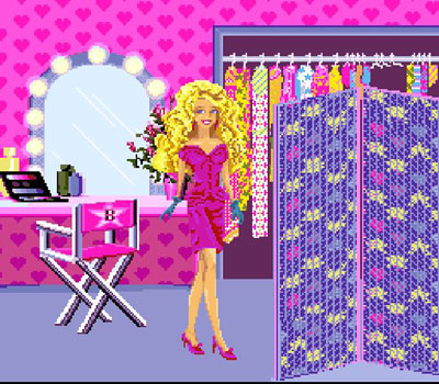 Imagen de la descarga de Barbie Super Model