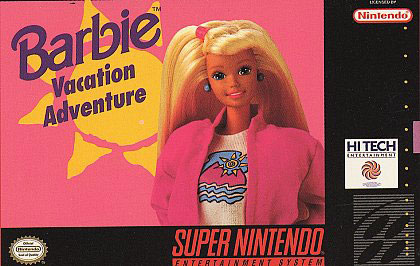 Carátula del juego Barbie Vacation Adventure (Snes)