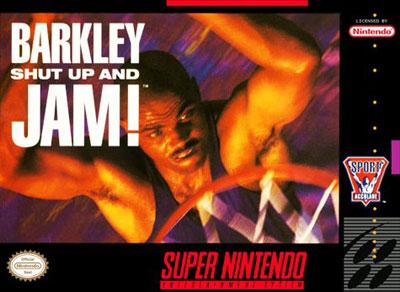 Carátula del juego Barkley - Shut Up and Jam (Snes)