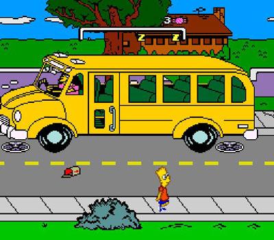 Pantallazo del juego online The Simpsons Bart's Nightmare (Snes)