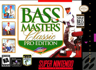 Carátula del juego BASS Masters Classic - Pro Edition (Snes)