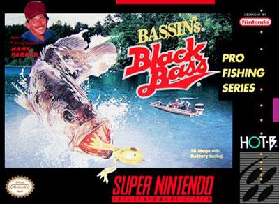 Carátula del juego Bassin's Black Bass (Snes)