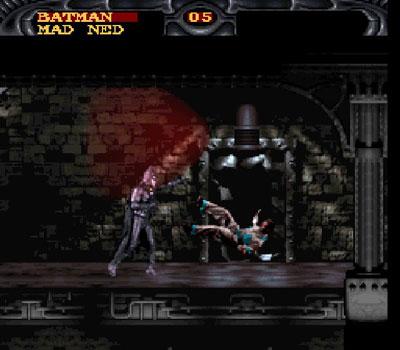 Pantallazo del juego online Batman Forever (Snes)