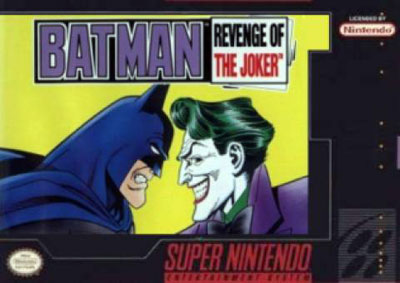 Carátula del juego Batman Revenge of the Joker (Snes)