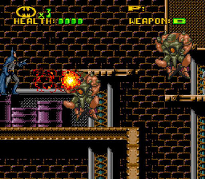 Pantallazo del juego online Batman Revenge of the Joker (Snes)