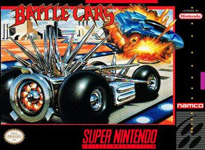 Carátula del juego Battle Cars (Snes)