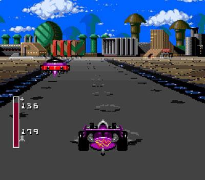 Pantallazo del juego online Battle Cars (Snes)