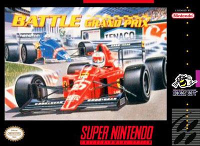 Carátula del juego Battle Grand Prix (Snes)