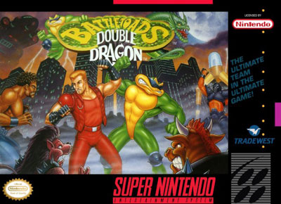 Carátula del juego Battletoads - Double Dragon - The Ultimate Team (Snes)