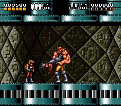 Pantallazo del juego online Battletoads - Double Dragon - The Ultimate Team (Snes)