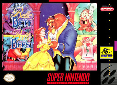 Carátula del juego Beauty & the Beast (Snes)