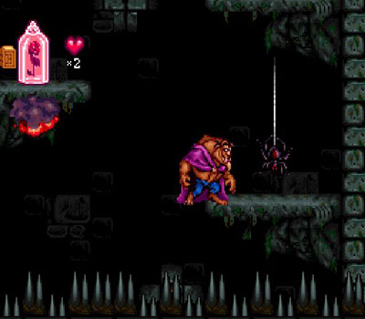 Pantallazo del juego online Beauty & the Beast (Snes)