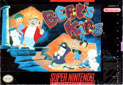 Carátula del juego Bebe's Kids (Snes)