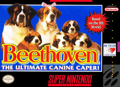 Carátula del juego Beethoven - The Ultimate Canine Caper (Snes)