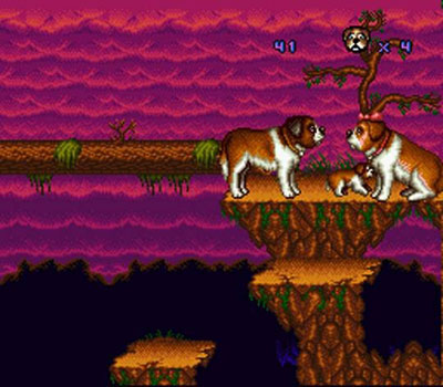 Pantallazo del juego online Beethoven - The Ultimate Canine Caper (Snes)