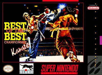 Carátula del juego Best of the Best - Championship Karate (Snes)
