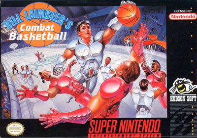 Carátula del juego Bill Laimbeer's Combat Basketball (Snes)