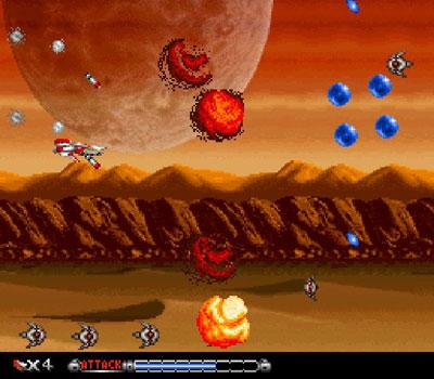 Pantallazo del juego online BioMetal (Snes)