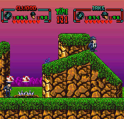 Pantallazo del juego online The Blues Brothers (Snes)