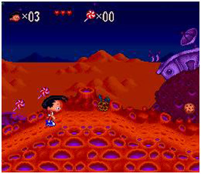Pantallazo del juego online Bobby's World (Snes)