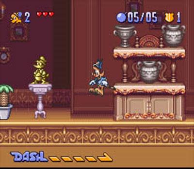 Pantallazo del juego online Disney's Bonkers (Snes)