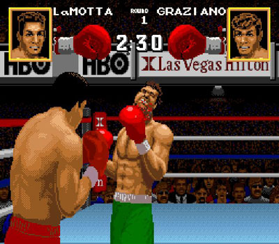Pantallazo del juego online Boxing Legends of the Ring (Snes)