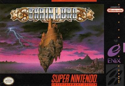 Carátula del juego Brain Lord (Snes)