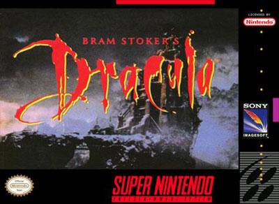 Carátula del juego Bram Stoker's Dracula (Snes)