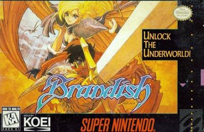 Carátula del juego Brandish (Snes)
