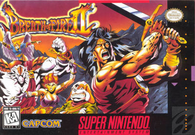 Carátula del juego Breath of Fire II (Snes)