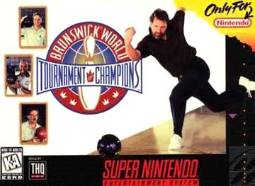 Carátula del juego Brunswick World Tournament of Champions (Snes)