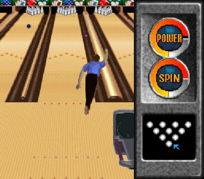 Pantallazo del juego online Brunswick World Tournament of Champions (Snes)