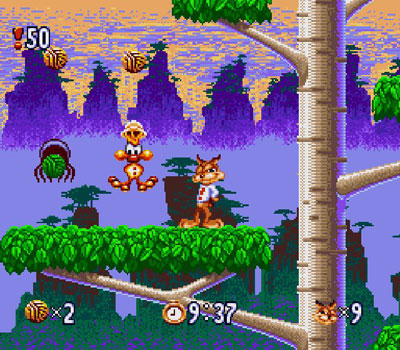 Imagen de la descarga de Bubsy in Claws Encounters of the Furred Kind