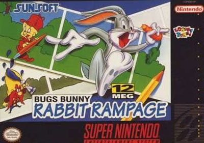 Portada de la descarga de Bugs Bunny in Rabbit Rampage