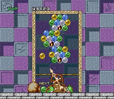 Pantallazo del juego online Bust-A-Move (Snes)