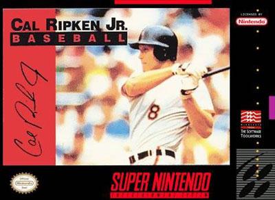 Carátula del juego Cal Ripken Jr Baseball (Snes)