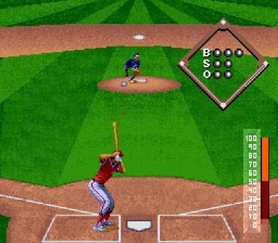 Pantallazo del juego online Cal Ripken Jr Baseball (Snes)