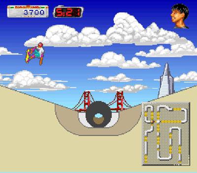 Pantallazo del juego online California Games II (Snes)