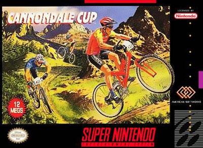 Carátula del juego Cannondale Cup (Snes)