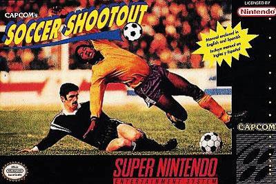 Carátula del juego Capcom's Soccer Shootout (Snes)