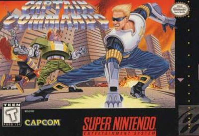 Carátula del juego Captain Commando (Snes)