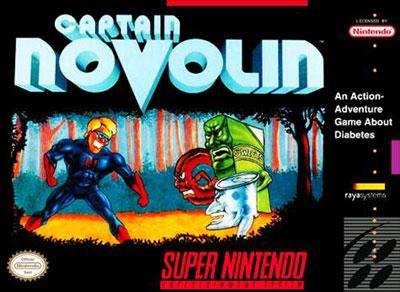 Carátula del juego Captain Novolin (Snes)