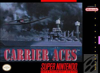 Carátula del juego Carrier Aces (Snes)