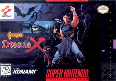 Portada de la descarga de Castlevania – Dracula X
