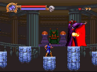 Pantallazo del juego online Castlevania - Dracula X (Snes)