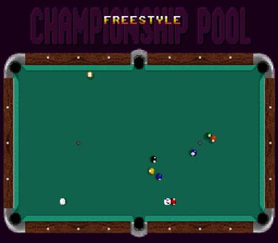 Pantallazo del juego online Championship Pool (Snes)