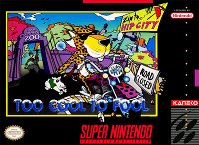 Carátula del juego Chester Cheetah - Too Cool to Fool (Snes)