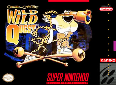 Carátula del juego Chester Cheetah - Wild Wild Quest (Snes)
