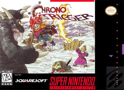Carátula del juego Chrono Trigger (Snes)
