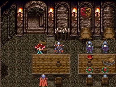 Pantallazo del juego online Chrono Trigger (Snes)